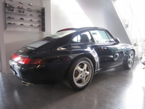 porsche 911 type 993 carrera 4 coupe garage haverbeke jonge tweedehandswagens. Black Bedroom Furniture Sets. Home Design Ideas